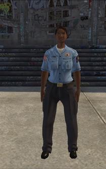 EMT female - EMTF Black - character model in Saints Row
