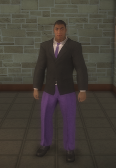 Gang Customization - Bodyguards - male lieutenant 1 - black