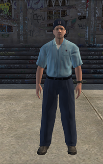 Mailman - whitePostMan - character model in Saints Row