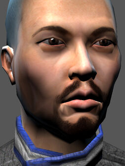 Saints Row character render - Donnie's face