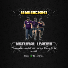 Saints Row unlockable - Homies - Natural Leader - 3 Homies