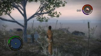 Cabbit - Step 2 - Lookout Island arrow location
