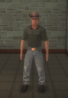 Cowboy - strong - character model in Saints Row 2