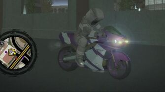 Kenshin - front right with lights in Saints Row 2