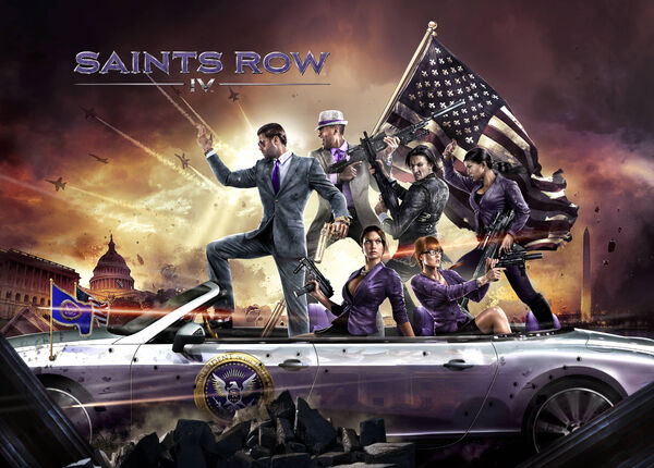 Saints Row IV promo - Crossing the Delaware