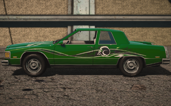 Saints Row IV variants - Stiletto SOS with decals - left