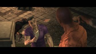 Three Kings - Gat talking to Playa