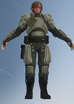 Zombie - STAG - character model in Saints Row IV