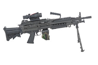 Automatic Rifle - M249 or MK46 light machine gun in real life