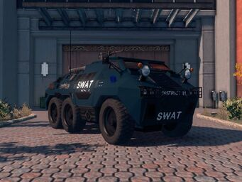 Bear - SWAT variant - front right parked in Saints Row The Third