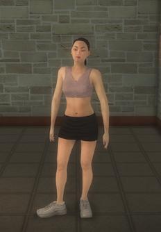 Cheerleader - asian generic - character model in Saints Row 2