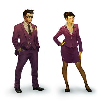 Playa - Saints Row IV Concept Art - final male and female