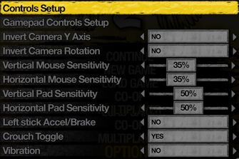 Saints Row 2 - Control Options