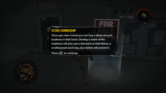 Store Ownership tutorial in Saints Row 2
