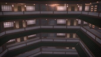 Tohoku Towers - upper floor