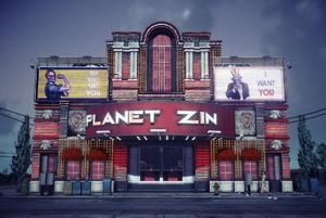 Planet Zin exterior