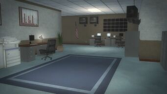 Police Headquarters - Ground floor surveillance room