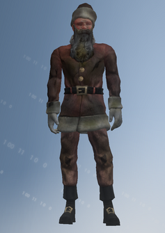 Santa - weak - character model in Saints Row IV
