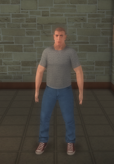 Skeeter - white generic - character model in Saints Row 2