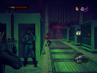 The Case of Mr. X - Kill Henchmen objective with Masako