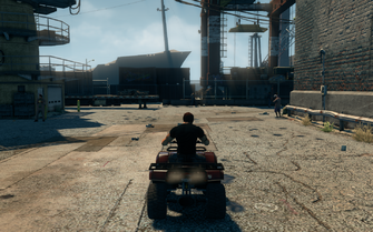 Toad - rear in Saints Row The Third