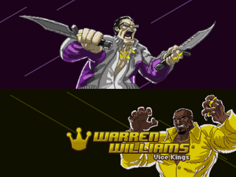 Welcome Back - Saints of Rage - Gat v Warren Williams title