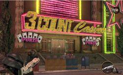 3 Count Casino exterior sign