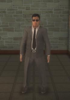 Business male - doorman hispanic - character model in Saints Row 2