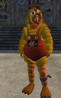 Chicken Ned with Bandana - character model in Saints Row