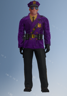 Gang Customization - Cop 1 - John - in Saints Row IV
