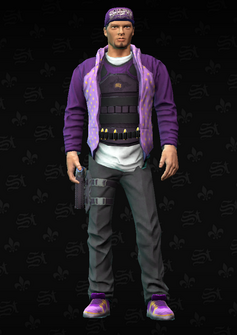 Gang Customization - Saint 6 - Taylor - in Saints Row The Third