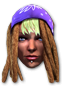 Homie icon - Fun Shaundi in Saints Row IV