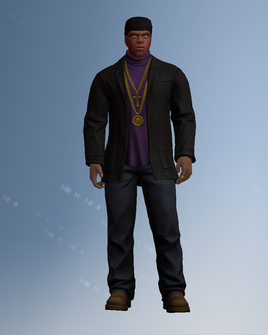 Julius character model in Saints Row IV