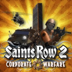 Saints Row 2 Corporate Warfare logo