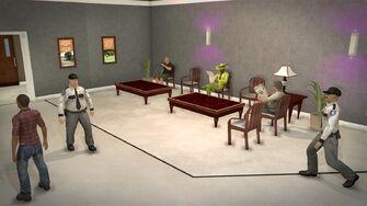 Stilwater Savings & Loan - interior waiting area