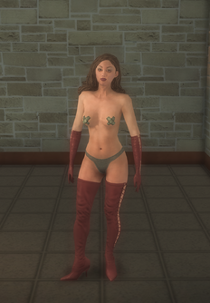 Stripper female b - white Pastie - character model in Saints Row 2