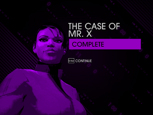 The Case of Mr. X complete