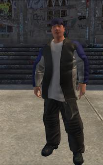 Westside Rollerz male Killa2-02 - asian - character model in Saints Row