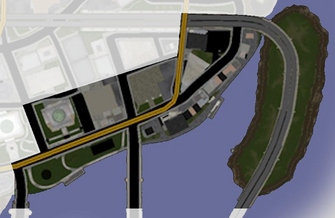 Brighton - Saints Row map