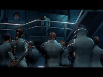 Grand Finale - opening cutscene