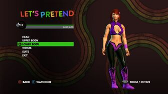 Let's Pretend promo with female wrestler
