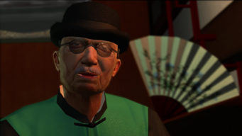 Mr. Wong in Saints Row