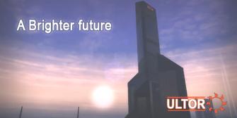 Ultor - A Brighter future billboard