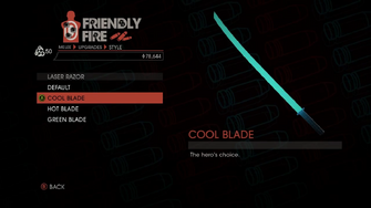 Weapon - Melee - Energy Sword - Laser Razor - Cool Blade