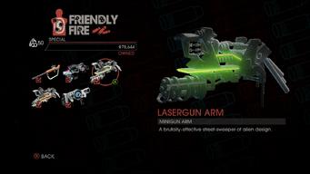 Weapon - Special - Lasergun Arm - Main