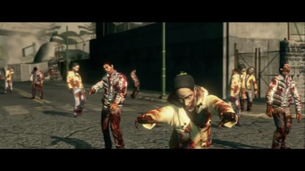Zombie Attack - Zombies approaching in cutscene