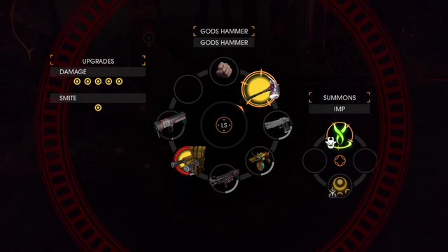 File:Gat out of Hell Gameplay Demo 0705 Weapon - 'Gods Hammer' (Costume - 'Gods Hammer').png