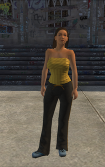 Generic young female 03 - BarrioLiqourStore - character model in Saints Row