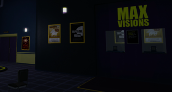 Max Visions interior ticket counter