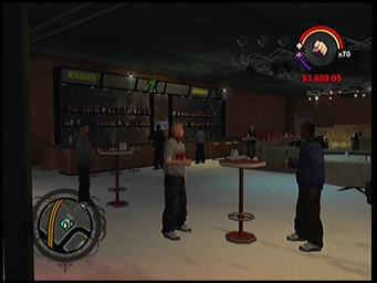 On Track bar area in Saints Row